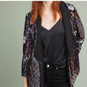 Anthropologie large sequin new